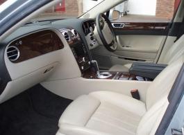 Bentley Flying Spur for weddings in Brentford