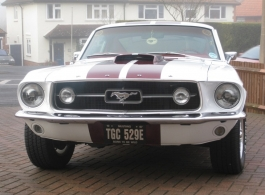 Classic American wedding car for hire in Reigate