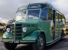 1949 Bedford Bus for wedding hire in Basingstoke
