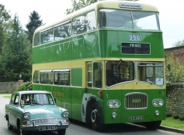 1967 double deck bus for weddings in Portsmouth