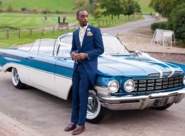 American wedding car hire in Guildford