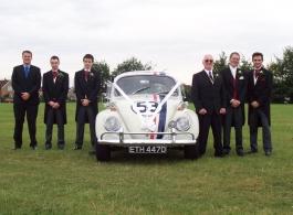 VW Beetle wedding car in Southampton