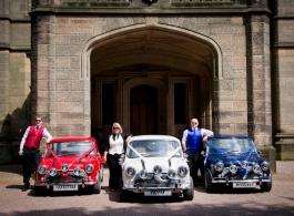 Mini wedding car hire in Stoke