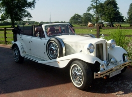 Vintage style Beauford for weddings in Watford