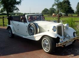 Vintage style Beauford for weddings in Watford