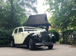 Bentley R Type for weddings in Godstone