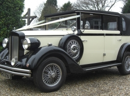 Regent wedding car for hire in Crawley