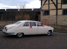 Classic Daimler for weddings in Southampton