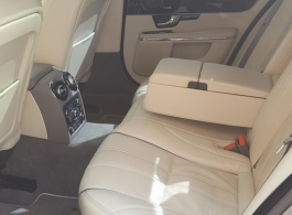 Modern Jaguar XJ wedding car hire in Tonbridge