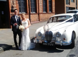 1961 Jaguar MK2 for weddings in Sale