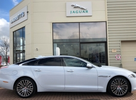 Modern Jaguar wedding car hire in Maidstone