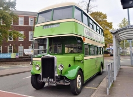Vintage bus for weddings in Exeter