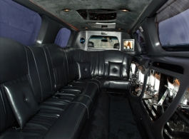 8 seat stretch Limo for weddings in Bromley
