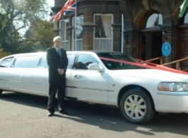 Stretch Limousine for weddings in Cardiff
