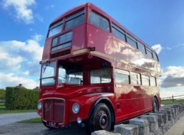Red Bus for weddings in Weston Super Mare