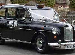 Classic London Taxi Wedding Hire in Camberley