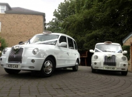London Taxi for weddings in Chester