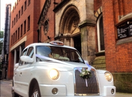 Manchester White wedding Taxi for hire