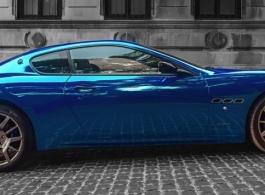 Maserati sports car for wedding hire in London