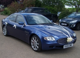 Maserati for wedding hire in Romford