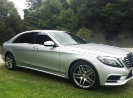 Mercedes wedding car hire in London