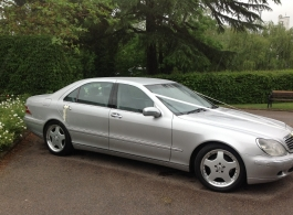 Mercedes Benz for weddings in Maidstone