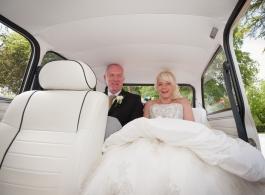 Classic mini wedding cars in Staffordshire