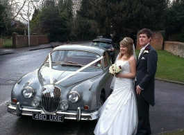 1962 Jaguar Mk2 wedding Car in Henley On Thames