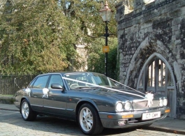 Jaguar wedding car hire in Dartford