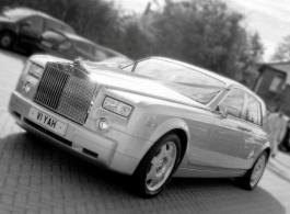 Modern Rolls Royce for wedding hire in Richmond