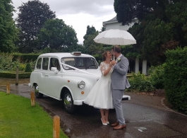 London Taxi for wedding hire in London