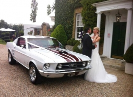 Ford Mustang for weddings in London
