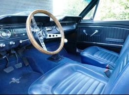 1960s Mustang for weddings in Epsom