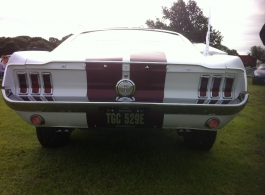 Classic 1960s Mustang for weddings in Epsom