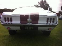Classic 1960s Mustang for weddings in Epsom
