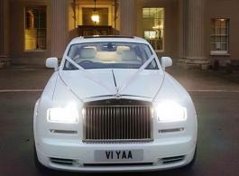Rolls Royce Phantom wedding car hire in Wembley
