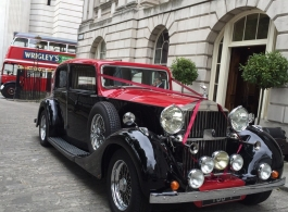 1937 Rolls Royce Phantom for weddings in Barnet