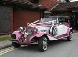 Pink beauford for weddings in Portsmouth