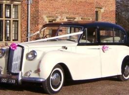 Classic Austin Princess wedding car hire In Newark
