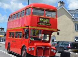 Routemaster bus for weddings in Shrewsbury