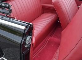 American 1950 Pontiac for weddings in Blandford Forum