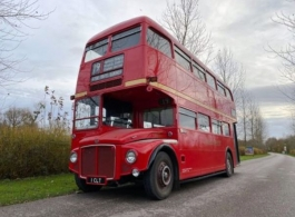 Routemaster bus for weddings in Bath
