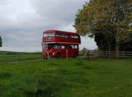 Classic Red London Bus for weddings in Wolverhampton