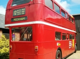 Routemaster Bus for wedding hire Bedford