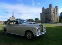 Rolls Royce Silver Cloud wedding car hire in Sevenoaks