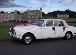Convertible Rolls Royce for weddings in Rochester