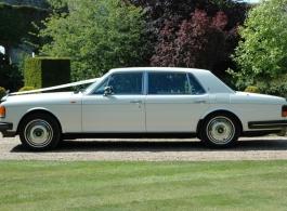Classic Rolls Royce for weddings in Horsham