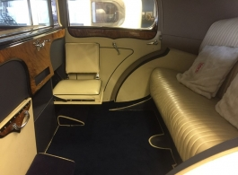 Vintage Rolls Royce wedding car in Portsmouth