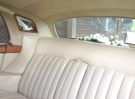 Classic White Rolls Royce for weddings in Brighton