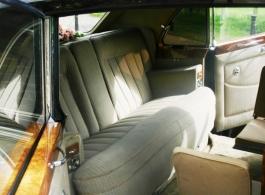 Classic 1960s Rolls Royce for weddings in Epsom